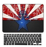 FULY-CASE プラスチック製のウルトラスリムライトハードシェルケース対応のある新しいMacBook Pro 15インチタッチバー/タッチIDUSキーボードカバー A1707/A1990 (地理シリーズ 60)