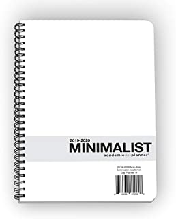 Action Publishing · Minimalist Student Planner · Dated Weekly and Monthly Agenda for Academic Year 2019-2020 · Medium (6.6 x 9 inches)