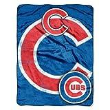 MLB Chicago Cubs 'Triple Play' Micro Raschel Throw Blanket, 46' x 60'