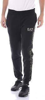 2f1890569f3334 EA Pantaloni EA7 Emporio Armani 7 6ZPP99 Felpa Tuta Uomo Elastico Polsino  Nero