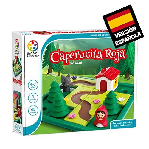 Games-SG021ES Smart Games Caperucita Roja Deluxe, Miscelanea