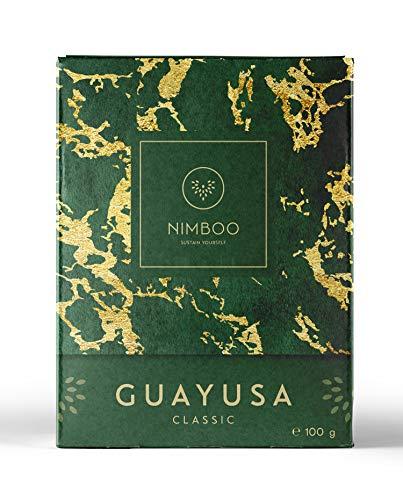 Guayusa Tee CLASSIC lose von NIMBOO - (100g) | Nachhaltige Leistungssteigerung | mehr Konzentration | Alternative für Energy drink - Grüner Tee - Mate - & Kaffee