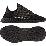 adidas Deerupt Runner, Basket Homme, Core Black/Silver Met./Core Black, 48 2/3 EU