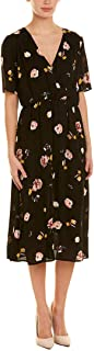 1.State Womens Floral Print Maxi Casual Dress