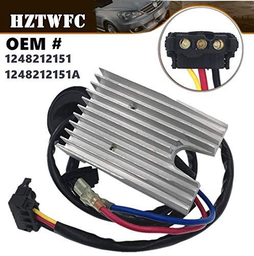 HZTWFC Résistance du moteur du ventilateur OEM # 1248212151 1248212151A pour Mercedes W124 E300 E320 E420 E500