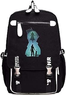 Gumstyle FINAL FANTASY Game Cosplay Laptop Backpack Book Bag Rucksack Schoolbag for Students 13
