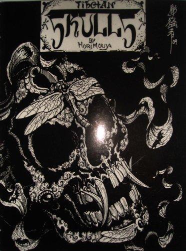 Diawell Japanische Tattoo Vorlagen Book Buch Tibetan Skulls 50 Seiten A4
