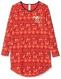 Skiny Mädchen Cosy Night Sleep Girls Sleepshirt Langarm Nachthemd, Mehrfarbig (Poppyred Lama 2181), (Herstellergröße: 140)