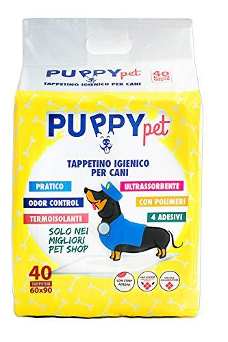 BIRBAPET Puppy Pet 200 TAPPETINI IGIENICI per Animali ASSORBENTI 60x60CM Cane Traverse