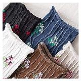 JSJJAQW Calcetines japoneses kawaii calcetines largos de algodón (color: 1 par enviado al azar)