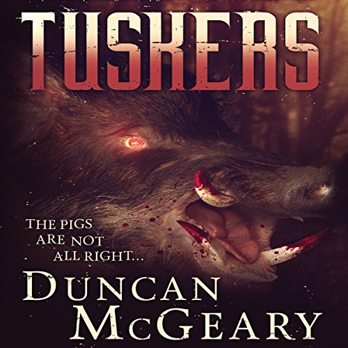 Tuskers audiobook cover art