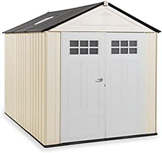 Rubbermaid Big Max Ultra Storage Shed, 7-foot by 10-foot (1862706)