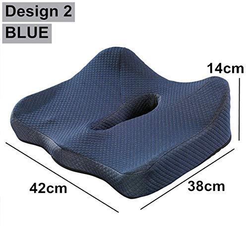 FICI Comfortabele Memory foam stoel pads Kussen op Stoel Sofa Auto Seat Body Kussen Pad Rolstoel Matten Kussen