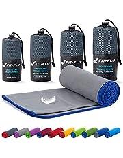 Microvezel handdoekenset - in ALLE afmetingen/18 kleuren - ultralicht, compact, & sneldrogend - Microvezel handdoeken - de perfecte reishanddoek, strandlaken en sporthanddoek