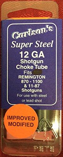 Carlson's Choke Tubes Remington 12 Gauge Delta Waterfowl Flush Choke Tube, Improved Modified, Black, Model:12223
