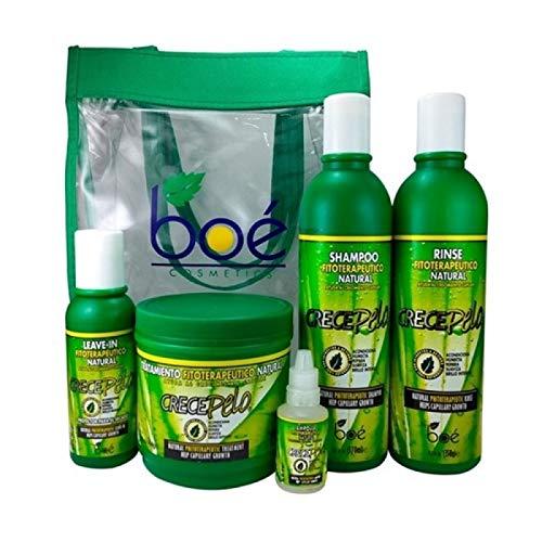CrecePelo Kit Sacola Personalizada 05 Produtos