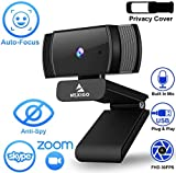 2020 [Upgraded] NexiGo AutoFocus 1080p Webcam with Microphone and Privacy Cover, Noise Reduction, HD USB Web...