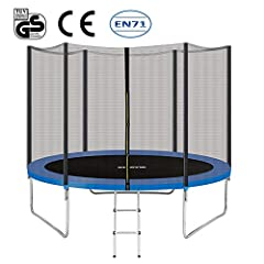Safety #1: 70 inches height complete trampoline safety enclosure is designed to protect the user of your trampoline when bouncing. A trampoline enclosure is a must have accessory for for any trampoline, preventing injury to the person bouncing and al...