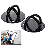 WINOMO 2pcs Ceiling Wall Mount Anchor for Suspension Strap Strength Training Gym Yoga