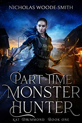 Book Cover for Part-Time Monster Hunter