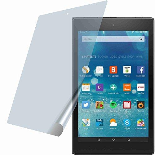 4ProTec I 2X ANTIREFLEX matt Schutzfolie für Amazon Fire HD 8-Tablet 20,3 cm (8 Zoll) 6. & 7. Gen. Premium Bildschirmschutzfolie Displayschutzfolie Schutzhülle Bildschirmschutz Bildschirmfolie Folie