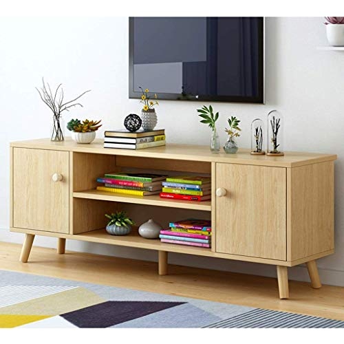 Mueble de TV de perfil bajo para medios de entretenimiento, consola y mesa de sofá, mesa de juegos