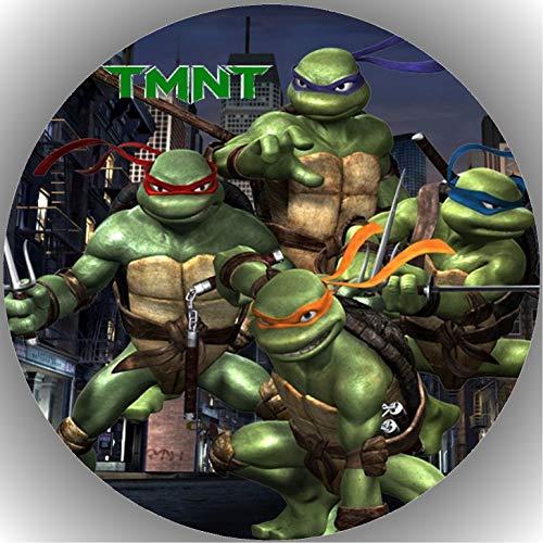 Fondant Tortenaufleger Tortenbild Geburtstag Turtles T1