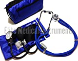 Best Blood Pressure Cuff And Stethoscope Kits - EMI Royal Blue Sprague Rappaport Stethoscope and Aneroid Review