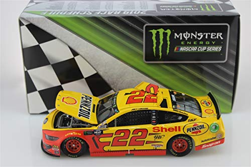Lionel Racing, Joey Logano, Shell/Pennzoil, 2019, Ford Mustang, NASCAR Diecast 1: 24 Scale