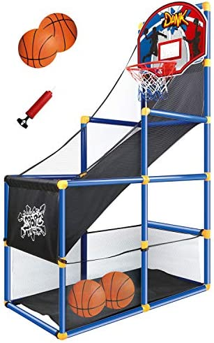 JOYIN Kids Arcade Basketball Game Set with 4...