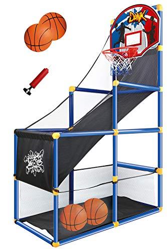 JOYIN Kids Arcade Basketball Game Set with Hoop for Kids Indoor Sport Play