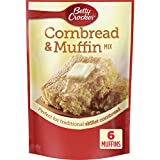 MUFFIN MIX: Bake a delicious, fluffy, mouth-watering treat with this cornbread and muffin mix QUICK AND EASY: Convenient, on-the-go treat that goes from the bowl to the oven in minutes by simply adding oil, water and eggs ENDLESS OPTIONS: Top your mu...