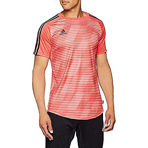 adidas Herren Tango Graphic Kurzarm Trikot, Real Coral, XL