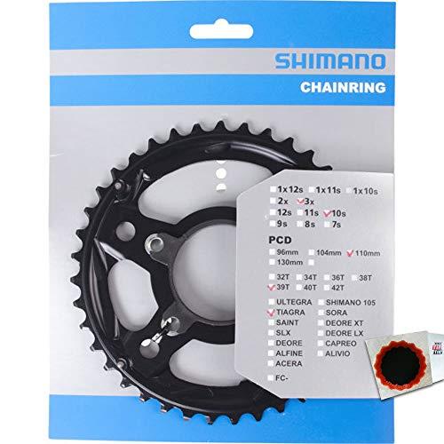 SHIMANO Kettenblätter TIAGRA FC-4703 39Z. MM + Schrauben 110mm Alu grau Fahrrad