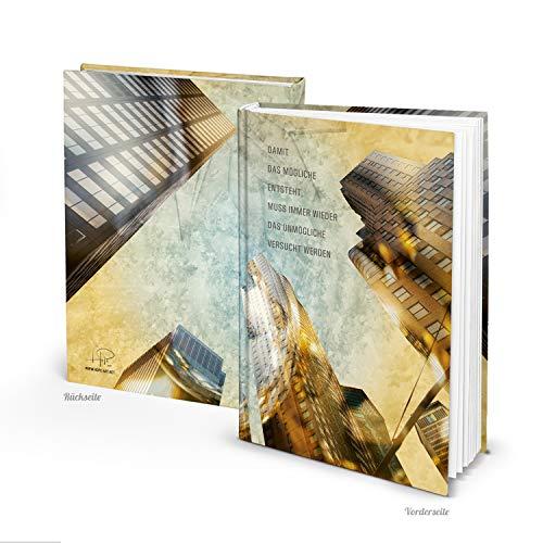 Logboek-uitgeverij Blanco notitieboek DIN A4 met fotomotief New York leeg boek dagboek geschenkenboek schetsboek
