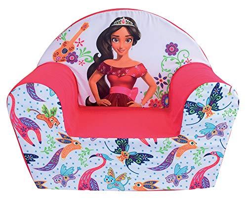 Fun House Disney Elena D'AVALOR 712814 Fauteuil Club Enfant Origine France Garantie, Housse Polyester/Mousse Polyether, 52 x 33 x 42 cm