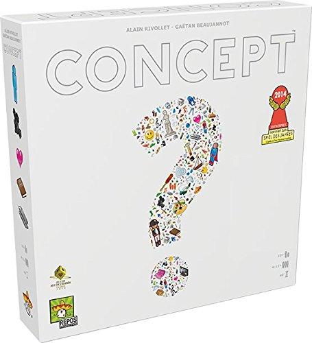 Asmodee Concept, Grundspiel, Familienspiel, Deutsch