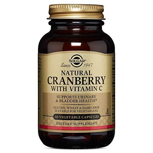 Solgar Natural Cranberry With Vitamin - 60 Vegetarian Capsules