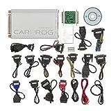 CONRAL Adattatori Programmatore ECU Set Completo 21 Pezzi per la Riparazione di autoradio, cruscotti, immobilizzatori, Supporto EEPROM e microcontrollore Programmazione Funzione airbag Reset