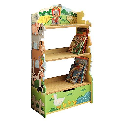 Fantasy Fields by Teamson Happy Farm Libreria, Multicolore