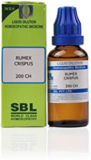 SBL Homeopathy Rumex Crispus (30 ML) (Select Potency) by USAMALL (200 CH)