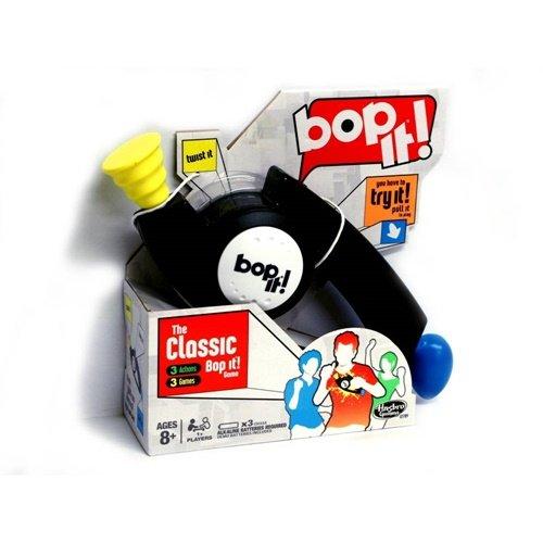 Bop It! Juego clásico negro de Hasbro Gaming
