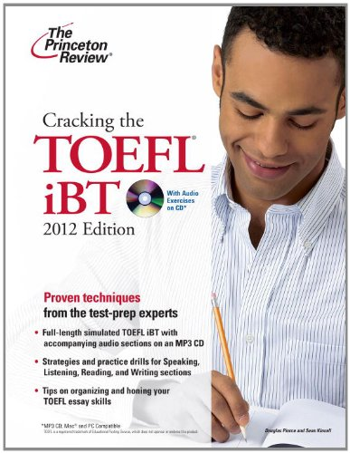 Cracking the toefl ibt, with audio exercices on CD: 2012 édition (Cracking the Toefl Ibt (Book & CD))