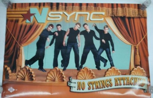 NSYNC - NO String Attached (Justin Timberlake) poster. The poster is not created or sold by NSYNC