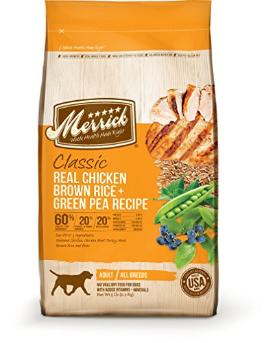 Merrick Classic Real Chicken, Brown Rice And Green Pea Dog Food,...