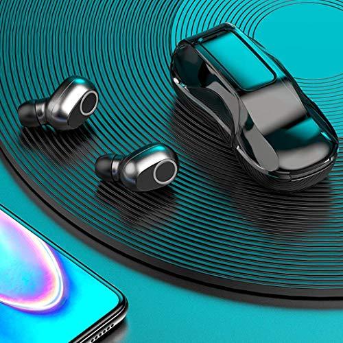 Kloius Bluetooth 5.0 Auriculares inalámbricos en la Oreja Manos Libres Auriculares Deportivos Auriculares con micrófono Auriculares