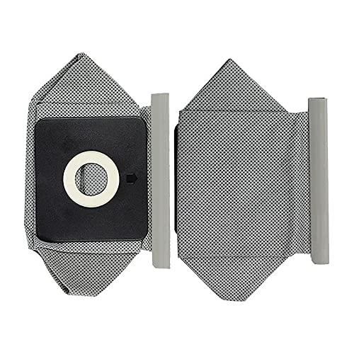 Lifeyz 2 uds Bolsa de Polvo de aspiradora Lavable para P-hilips Electrolux LG Haier Samsung Ro-BOT aspiradoras Bolsas de Tela 110 x 100 mm Exquisito