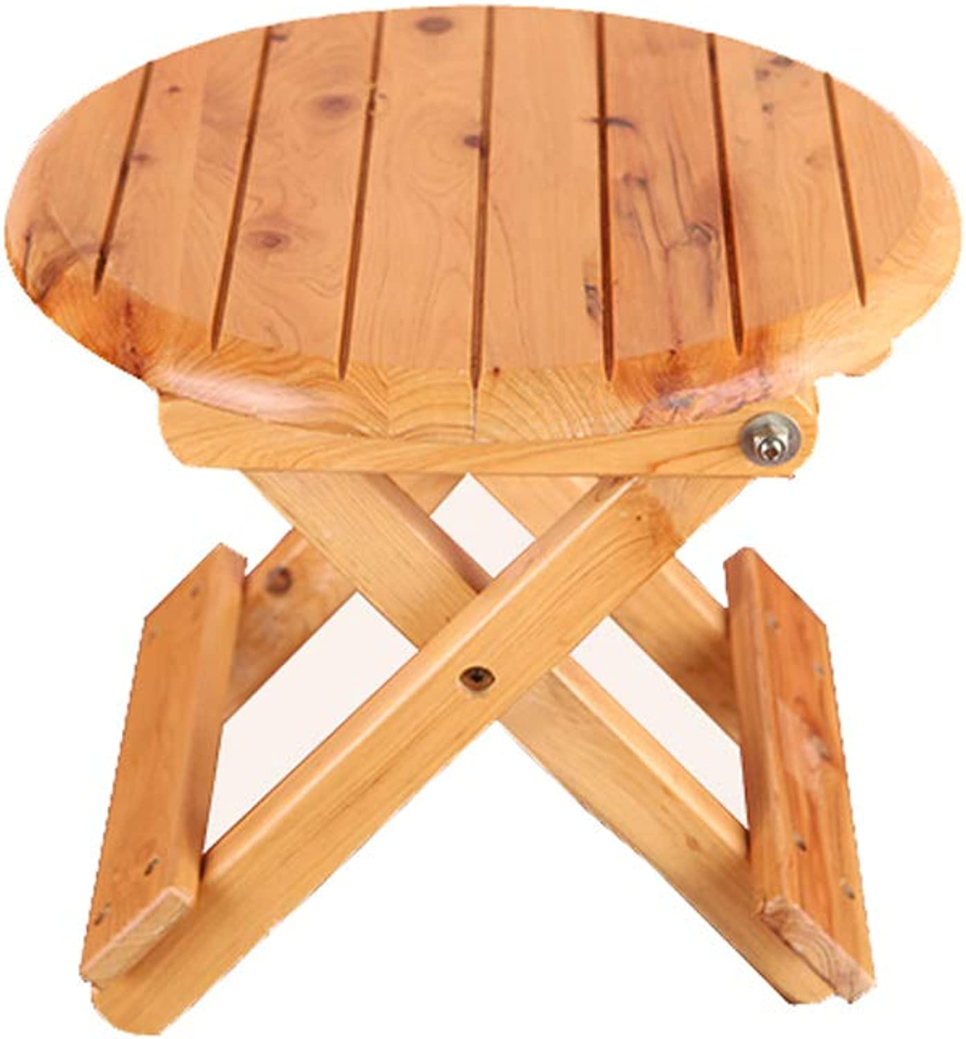 LIUXUEPING Stool, Low Stool, Foldable Small Bench, Solid Wood Stool, Fishing Stool, Simple Portable Stool