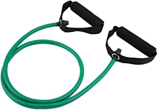 Yoga Pull Rally Rope Elastic Band Fitness Sports Tube Workout Exercise Elastic String Green