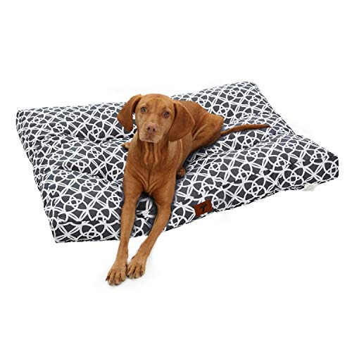 Tempcore Large Dog Bed XL for Small, Medium, Large Dogs Up to 45/80 / 110lbs-Waterproof Dog Bed, Oxford Fabric Dog Mattress-Ideal for Cars, Dog Crate Or Elevated Dog Bed, Dog Bed Trampoline